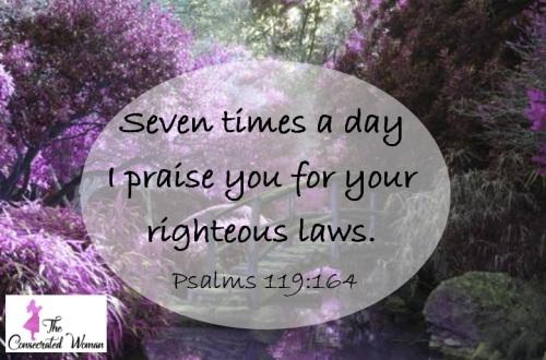 Psalms 119 164