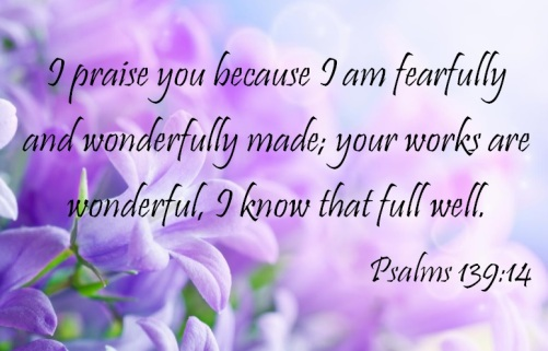 Verse of the Day: Psalms 139:14 | The Consecrated Woman
