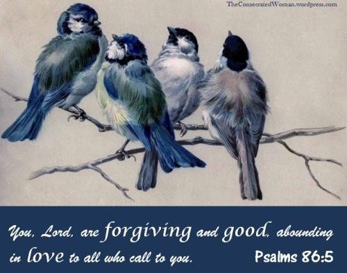 Psalms 86 5