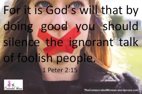1 Peter 2 15