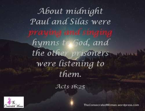 Acts 16 25