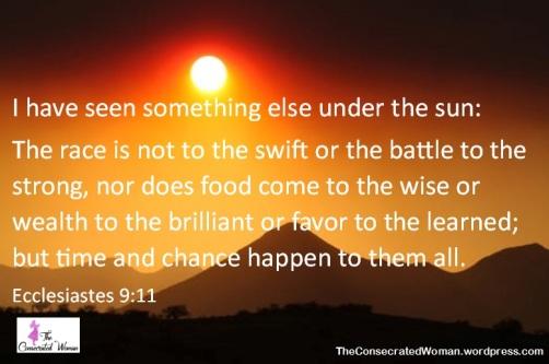 Ecclesiastes 9 11