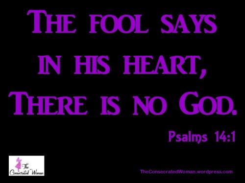 Psalms 14 1
