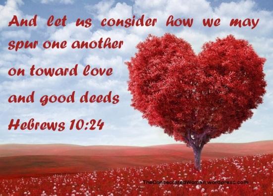 Hebrews 10 24