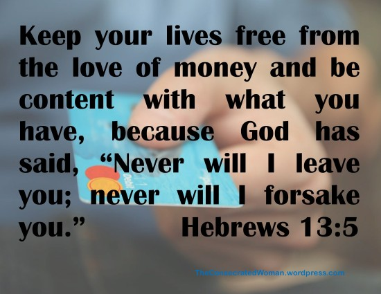 1 Hebrews 13 5