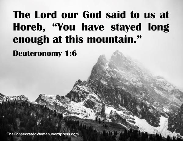 Deuteronomy 1 6
