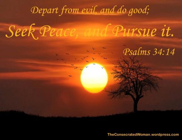 Psalms 34 14