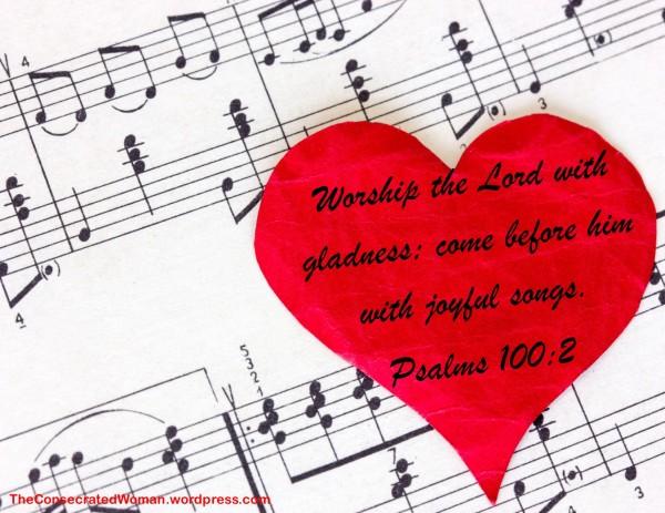 1 psalms 100 2