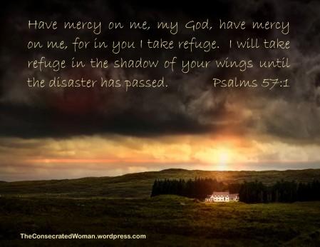 1 Psalms 57 1