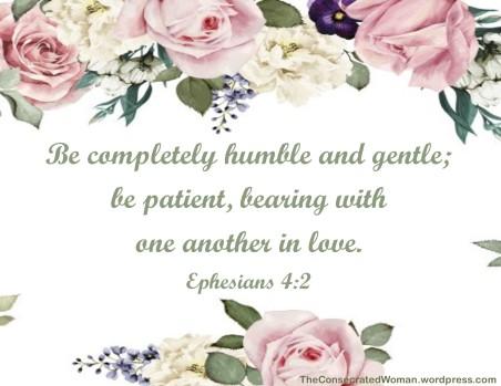 1 Ephesians 4 2