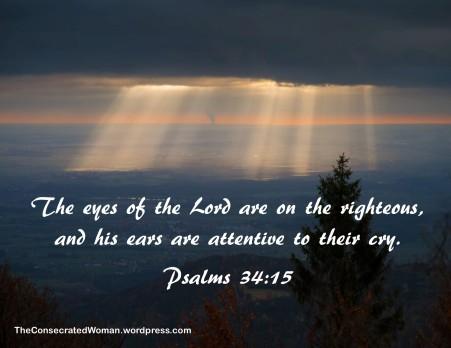 1 psalms 34 15
