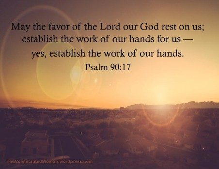 1 Psalms 90 17