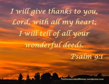 1 11-14 1 Psalm 9 1