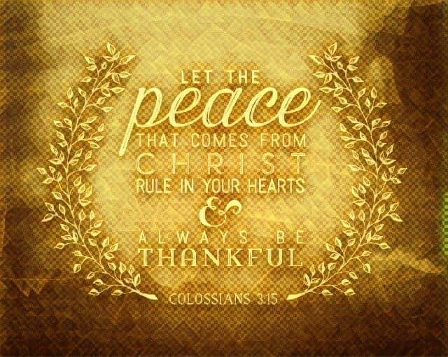 1 11-18 1 Colossians 3 15