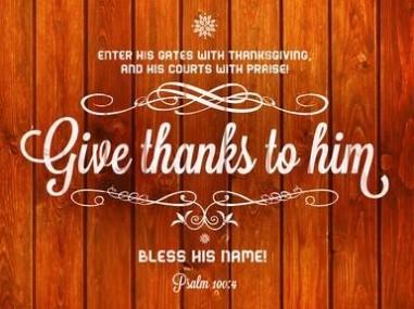 1 11-19 1 Psalms 100 4