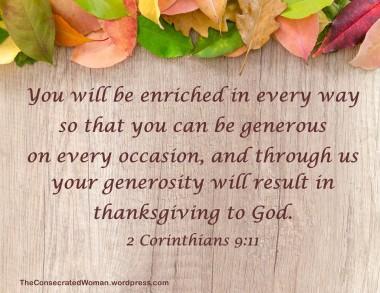 1 11-20 1 2 Corinthians 9 11