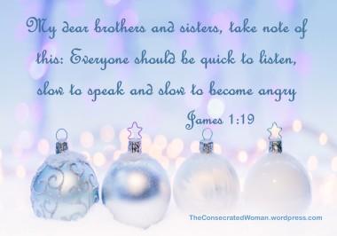 1 11-25 1 James 1 19