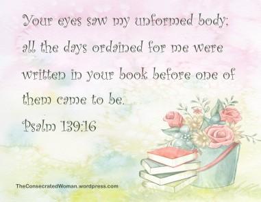 1 1-16 18 Psalm 139 16
