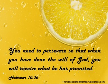 1 Hebrews 10 36