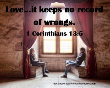 1 Corinthians 13 5