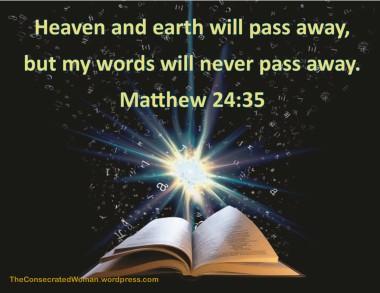 Matthew 24 35