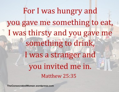 Matthew 25 35