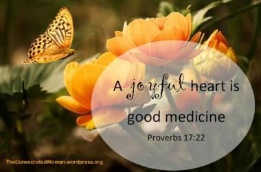 Proverbs 17 22