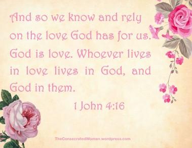 1 John 4 16