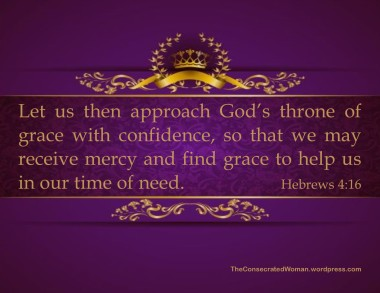Hebrews 4 16