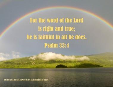 Psalm 33 4