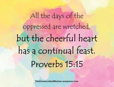 Proverbs 15 15