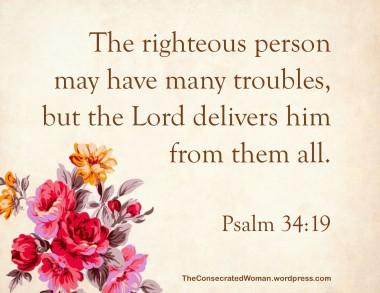 Psalm 34 19