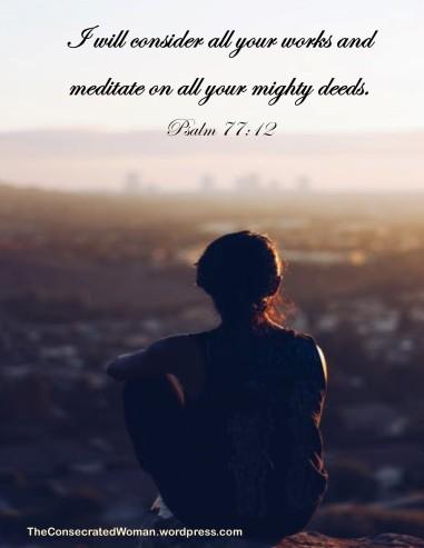 Psalm 77 12