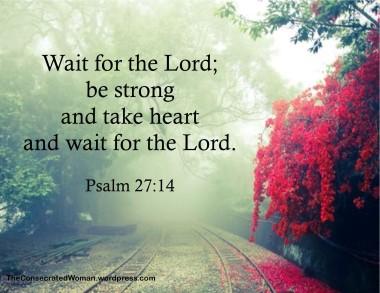 Psalm 27 14