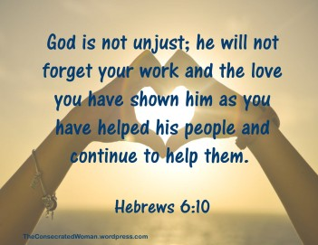 Hebrews 6 10