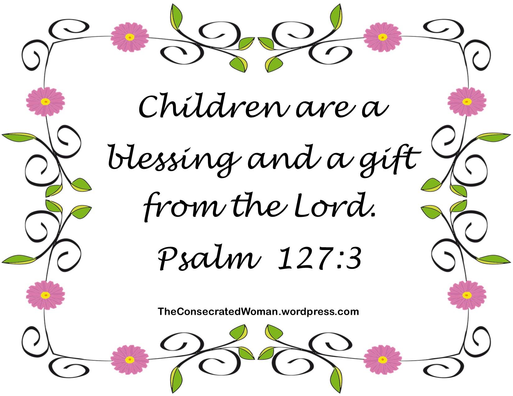 Psalm 127 3