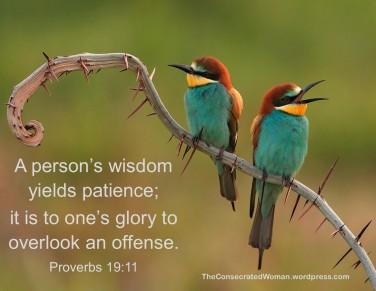 Proverbs 19 11