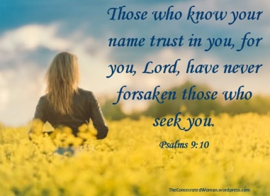 Psalm 9 10