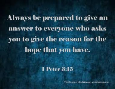 1 Peter 3 15