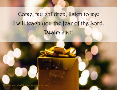 Psalm 34 11