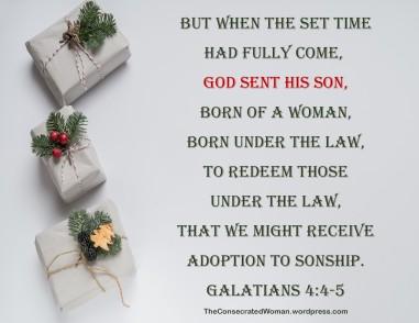 Galatians 4 4-5