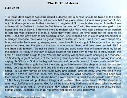 Luke 2 1-21