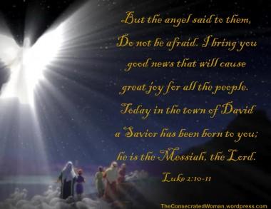 Luke 2 10-11