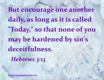 hebrews 3 13