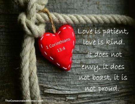 1 Corinthians 13 4