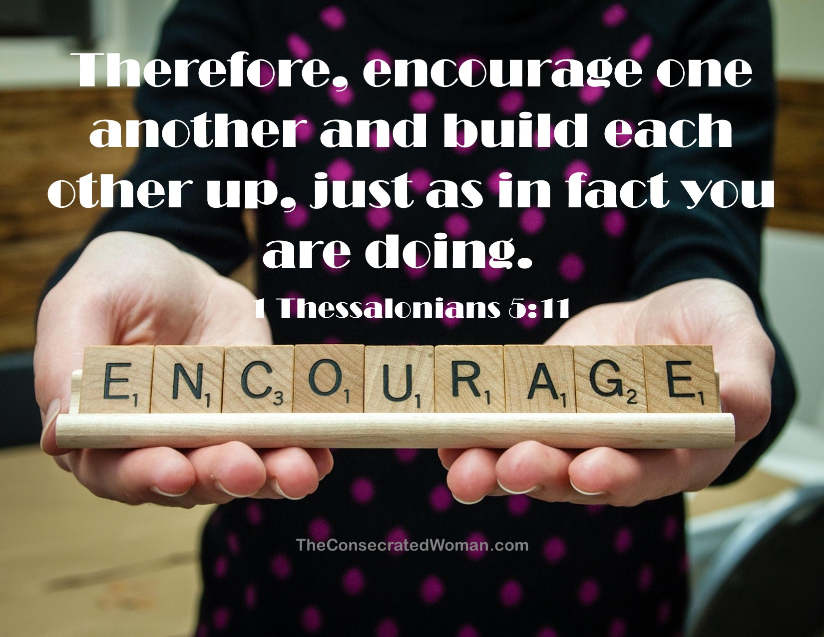 1 Thessalonians 5 11