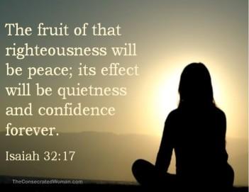 Isaiah 32 17