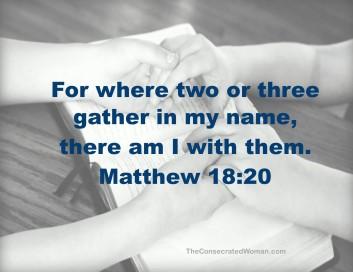 Matthew 18 20 (2)