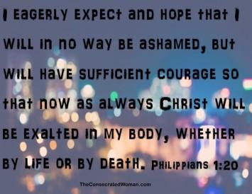 Philippians 1 20