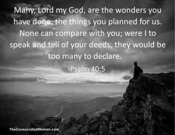 Psalm 40 5